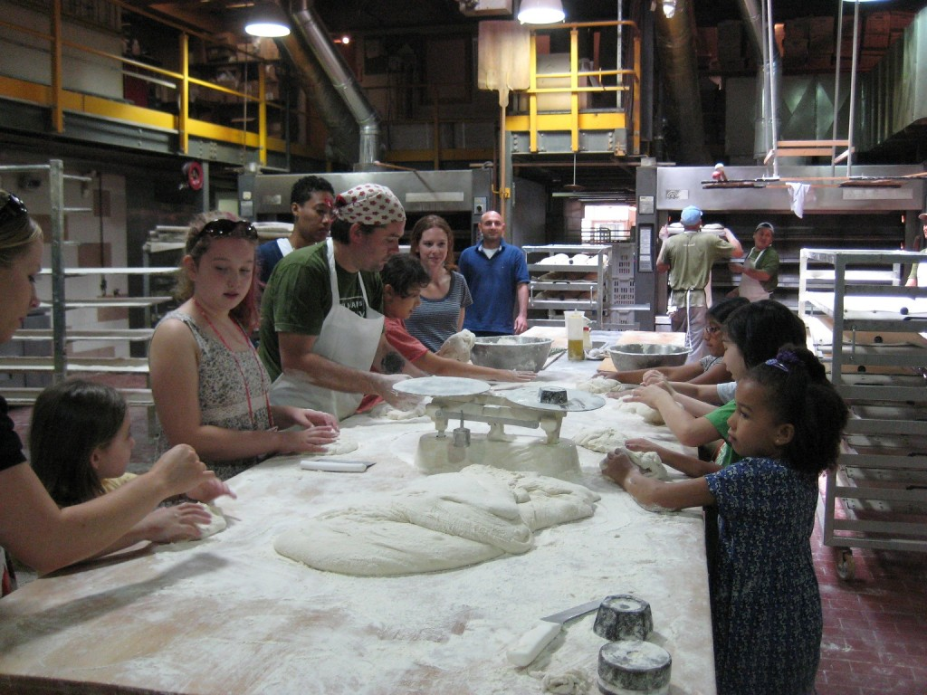 Making Our Own Pizza Bianca at Sullivan St. Bakery